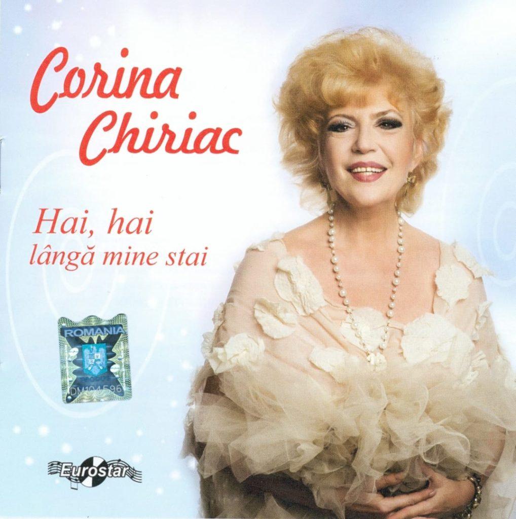 Coperta CD Corina Chiriac - Hai hai langa mine stai