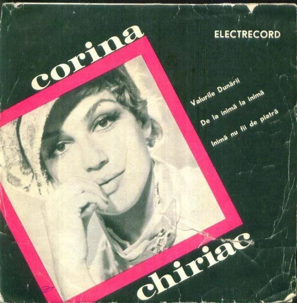 Coperta single vinil Corina Chiriac (anii 1970)