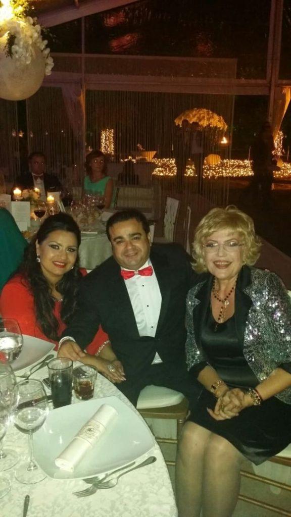 Corina Chiriac cu Adi Minune și soția