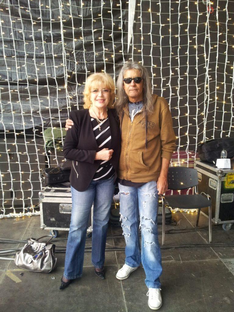 Corina Chiriac cu Cristi Minculescu