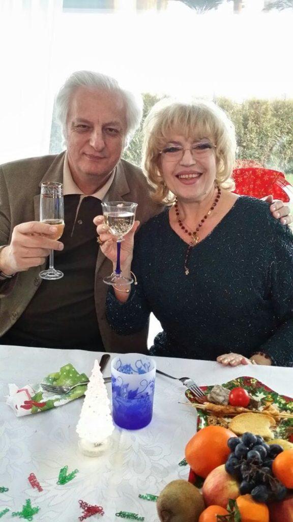 Corina Chiriac cu dr Mircea Penescu