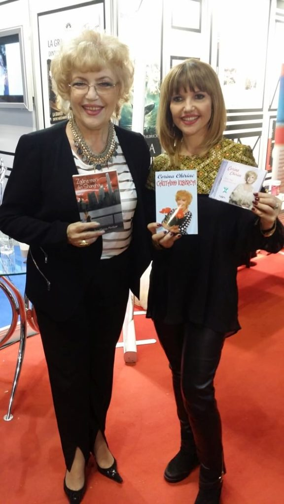 Corina Chiriac cu Marina Almașan