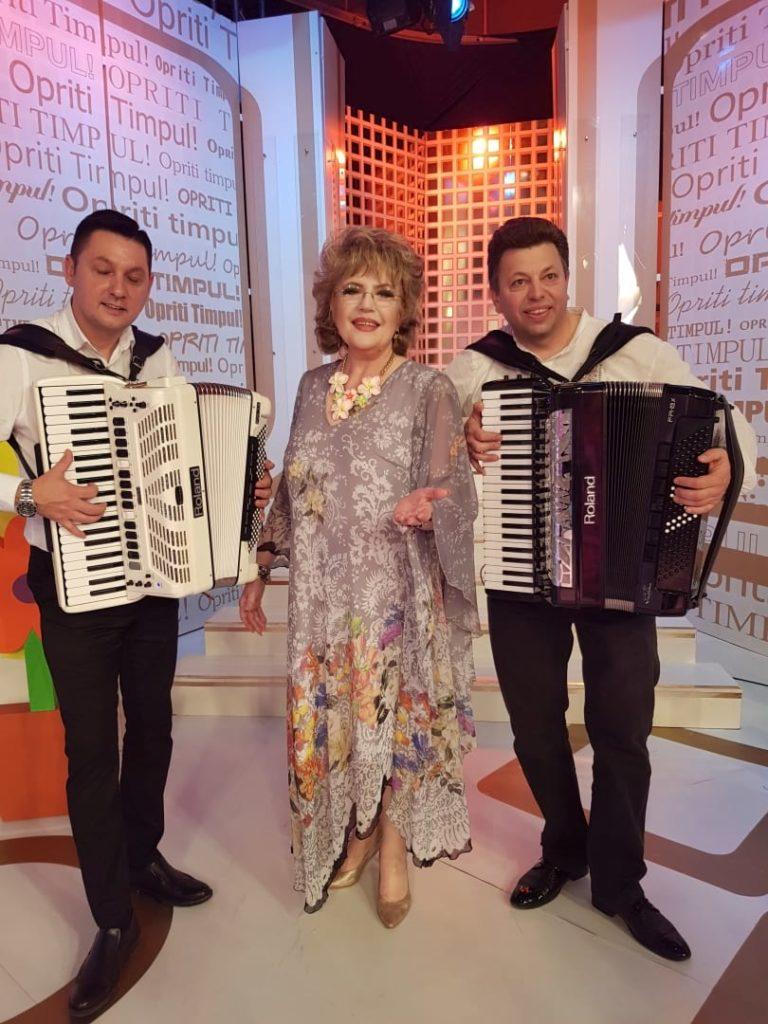 Corina Chiriac cu Paul Stângă și Plamen Dimitrof din Bulgaria