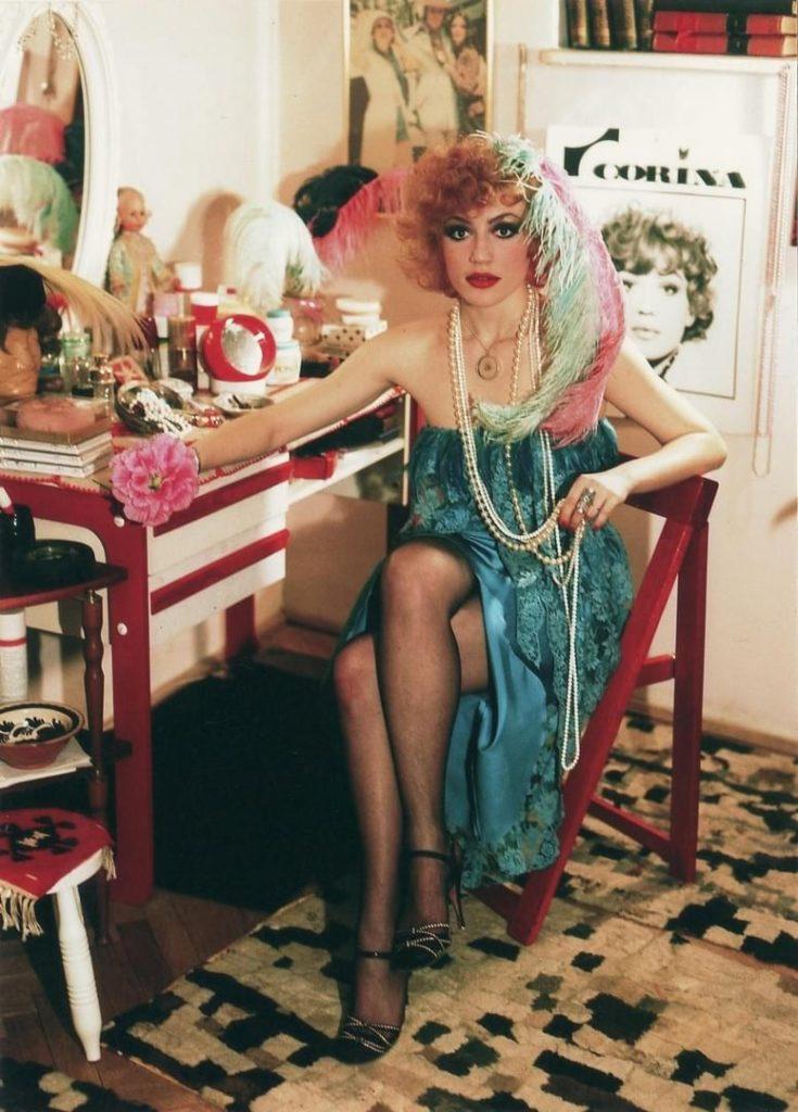 Corina Chiriac (foto: Aurel Mihailopol, 1977)