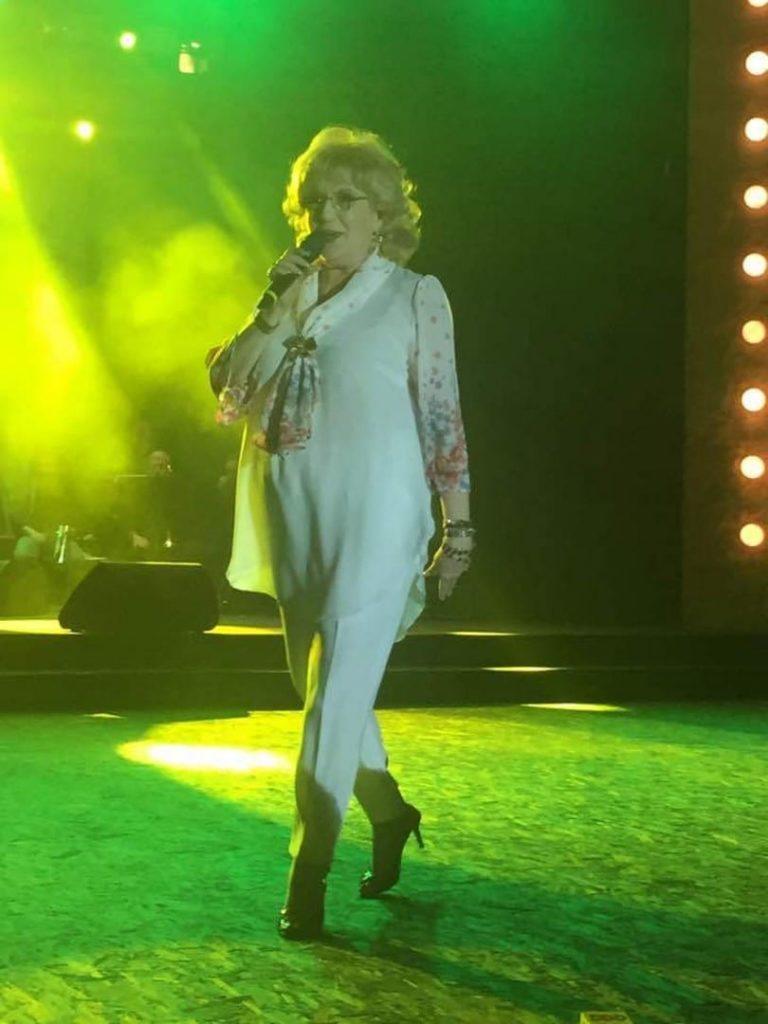 Corina Chiriac în concert (arhivă personală, 2017)
