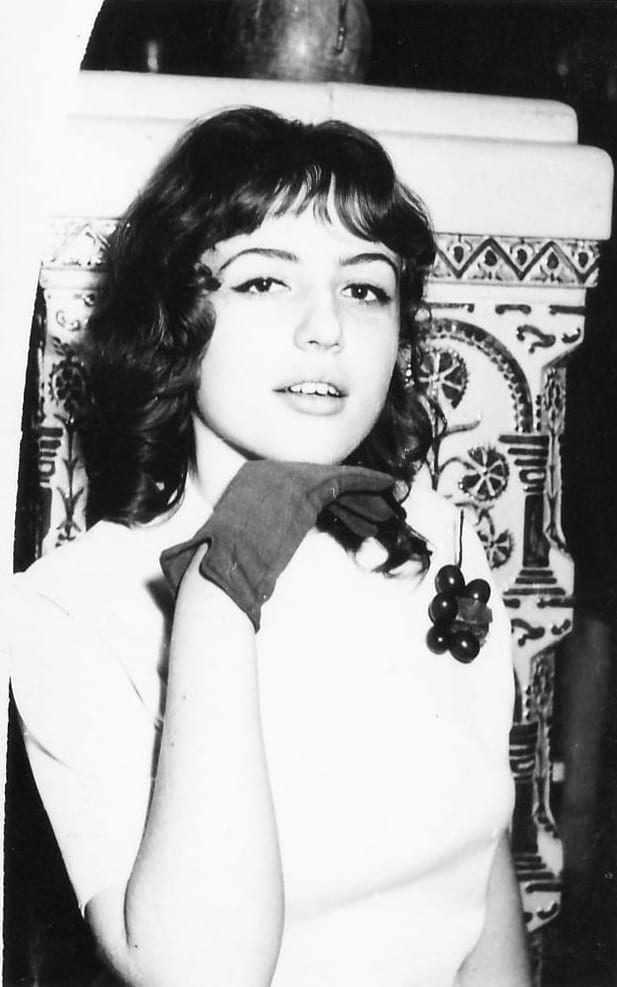 Corina Chiriac la 16 ani fotografie din arhiva personală