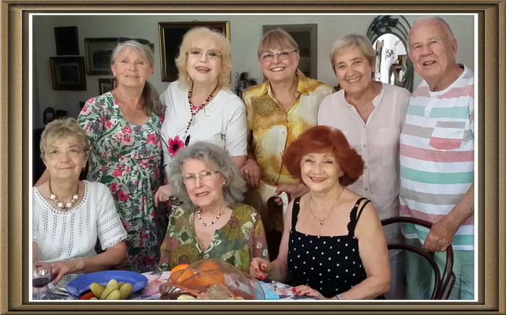 Corina Chiriac la aniversarea Aurorei Andronache