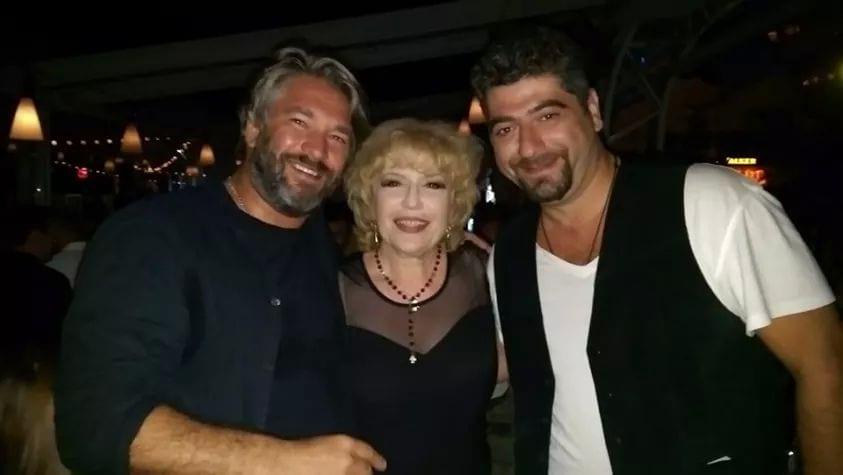 Corina Chiriac la clubul Fratelli cu Liviu și Ovidiu