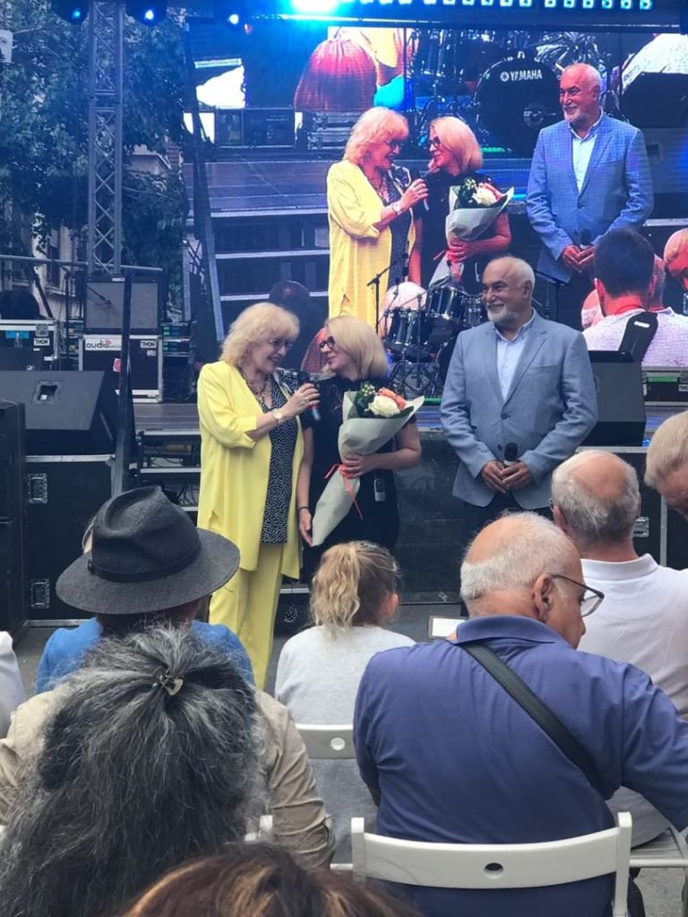 Corina Chiriac la Festivalul Strada Armeneasca
