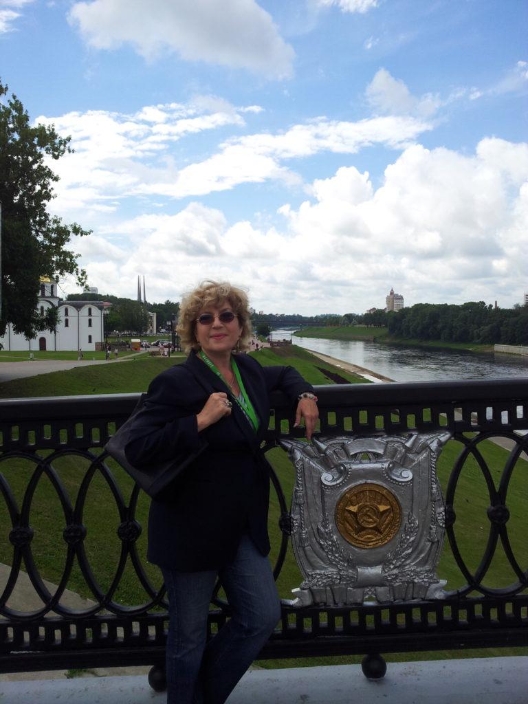 Corina Chiriac la Vitebsk, Belarus