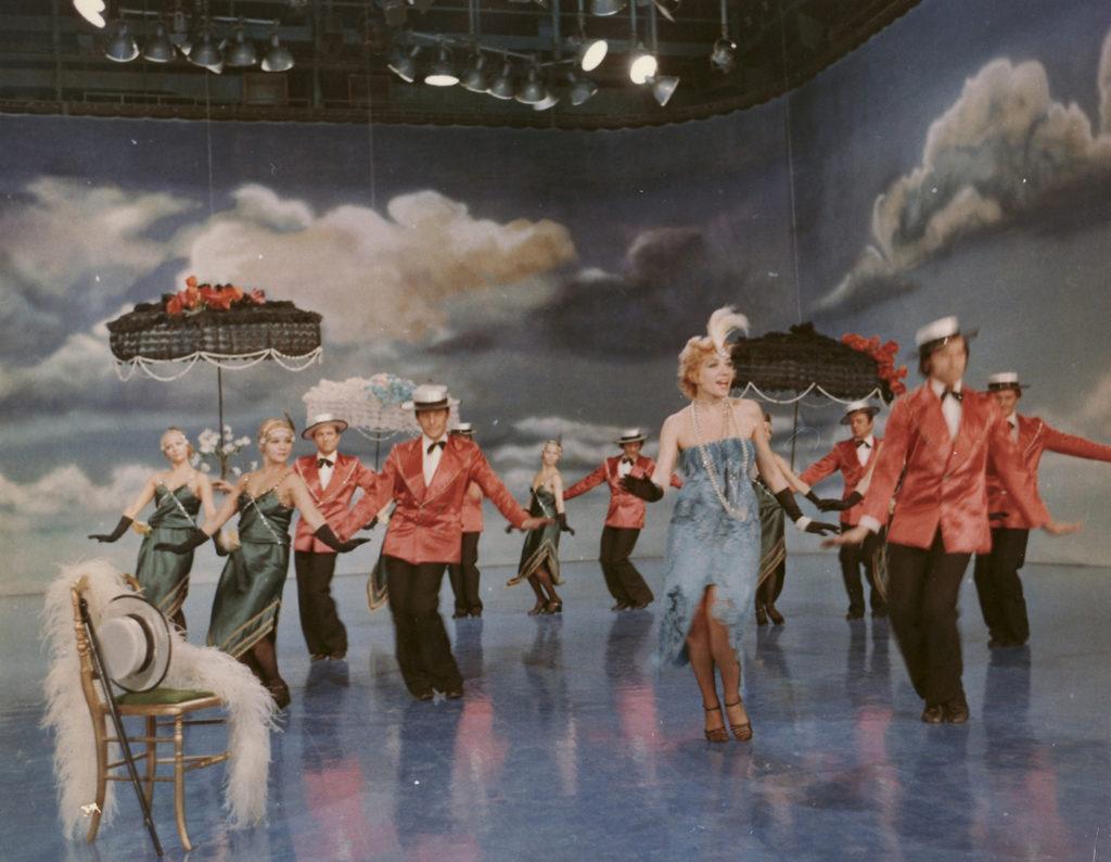 Corina Chiriac primul show color al TVR 1979 01