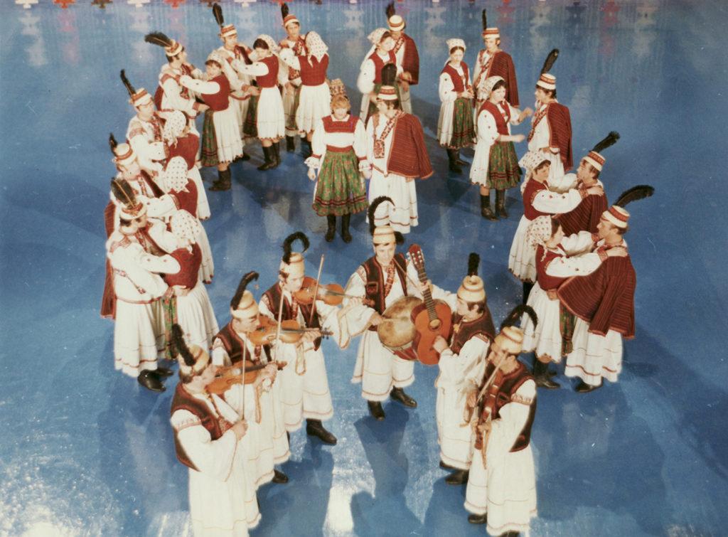 Corina Chiriac primul show color al TVR 1979 03