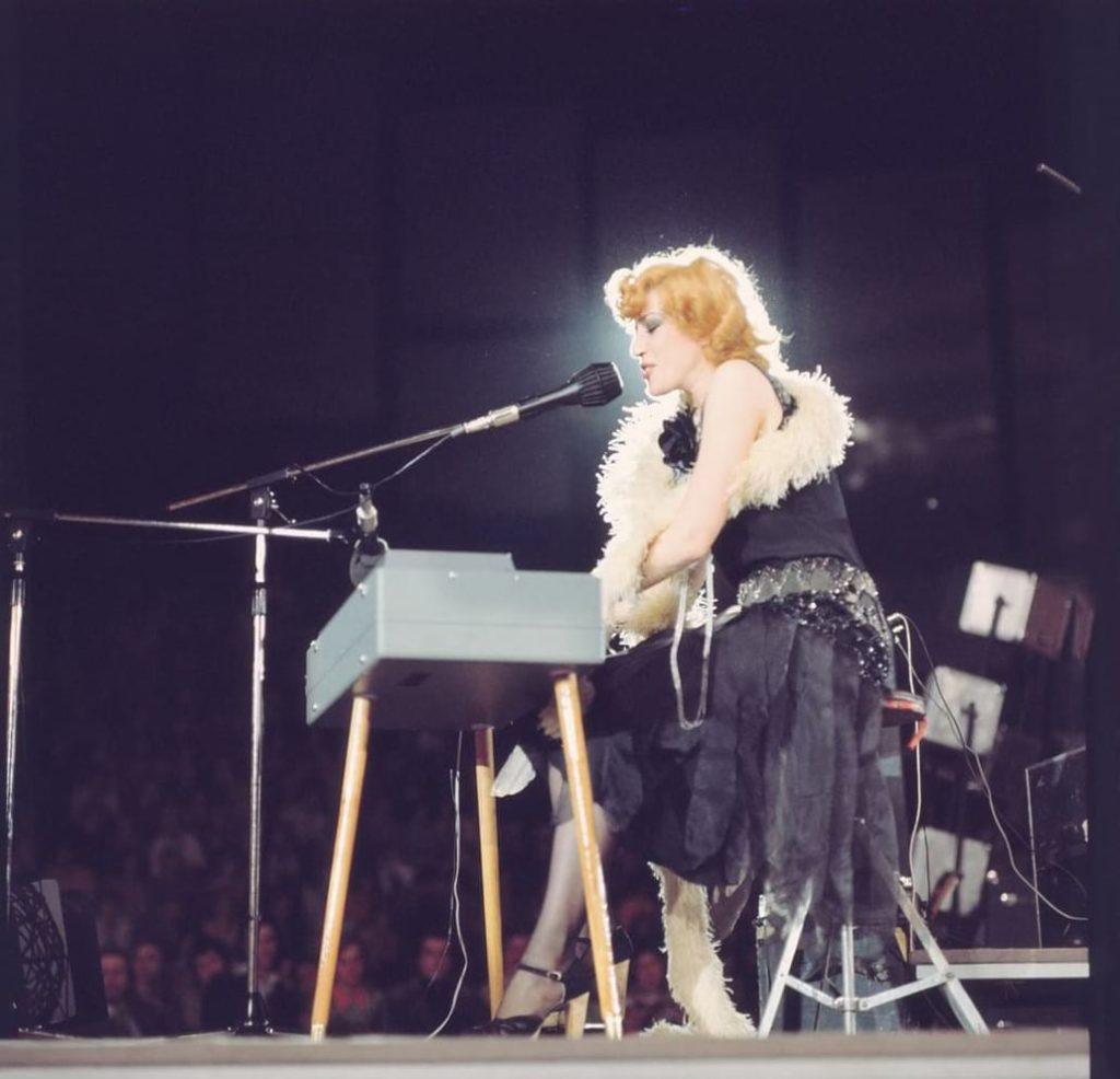 Recital Corina Chiriac la Festivalul Lyra Bratislavei, Slovacia (1976)