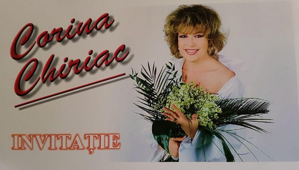 Invitație la spectacol Corina Chiriac (2010)